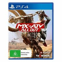 MX VS ATV All Out PS4 Playstation 4 Game - Disc Like New