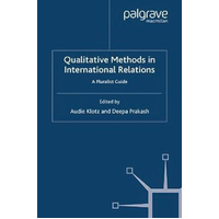 Qualitative Methods in International Relations Book