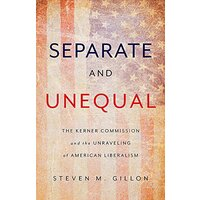 Separate and Unequal Politics Book Aus Stock