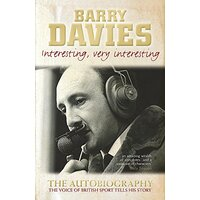 Interesting, Very Interesting -Barry Davies Biography Book Aus Stock