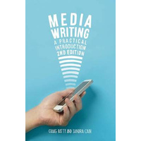 Media Writing -A Practical Introduction - Education Book Aus Stock