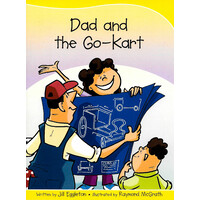 Sails Take-Home Library Set B -Dad and the Go-Kart - Children's Book Aus Stock