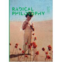 Radical Philosophy 2.03 / December 2018: 2 - Politics Book Aus Stock