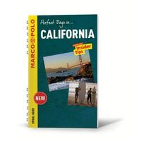 California Marco Polo Travel Guide - with pull out map - Travel Book Aus Stock