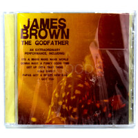 James Brown - The Godfather BRAND NEW SEALED MUSIC ALBUM CD - AU STOCK