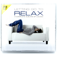 3 DISC SET LETTING GO TO RELAX 3 DISC MOOD/LOUNGE/RELAXATION/CALMCD NEW SEALED