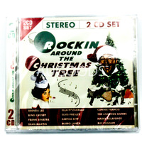 Rockin Around the Christmas Tree 2CD Set BRAND NEW SEALED MUSIC ALBUM CD