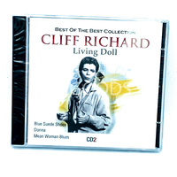 Cliff Richard - The best collection- Living Doll MUSIC CD NEW SEALED