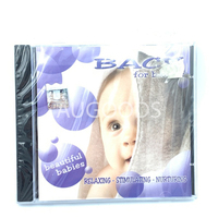 Bach for babies Relaxing Stimulating Nurturing BRAND NEW SEALED MUSIC ALBUM CD