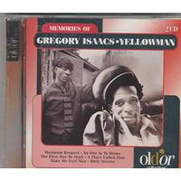 Memories of Gregory Isaacs/ Yellowman BRAND NEW SEALED MUSIC ALBUM CD