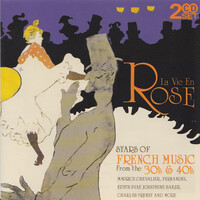 Various - La Vie En Rose: Stars Of French Music From The 30's & 40's NEW SEALED