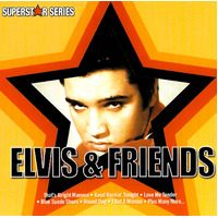 Elvis Presley - Elvis and Friends - Superstar Series MUSIC CD NEW SEALED