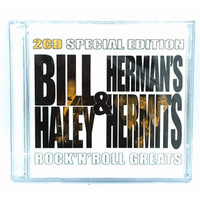 Bill Haley & Herman's Hermits Rock N Roll Greats MUSIC CD NEW SEALED