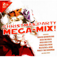 Christmas Party Mega Mix BRAND NEW SEALED MUSIC ALBUM CD - AU STOCK