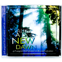 A New Dawn - Magical Blend of Music & the Sounds of Nature MUSIC CD NEW SEALED