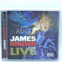 James Brown Live BRAND NEW SEALED MUSIC ALBUM CD - AU STOCK