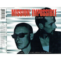 Adam Clayton & Larry Mullen ‎– Theme From Mission: Impossible PRE-OWNED CD: DISC EXCELLENT