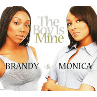 Brandy & Monica ‎– The Boy Is Mine PRE-OWNED CD: DISC EXCELLENT
