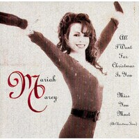 Mariah Carey (At Christmas Time) PRE-OWNED CD: DISC EXCELLENT