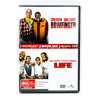 2 Movie Set - Bowfinger + LIFE- Comedy MOVIE - NEW DVD - AUS Stock Region 4