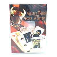 COUNTRY MUSIC COMES TO EUROPE VOL. 3 ALL REGION (JOHNNY CASH) NEW MOVIE DVD