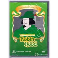 ADVENTURES OF ROBIN HOOD THE ANIMATED CLASSICS Region 4 PAL -Kids DVD New
