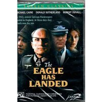 The Eagle Has Landed - War MOVIE - NEW RARE DVD - AUS Stock Region 4