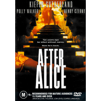 AFTER ALICE - Rare DVD Aus Stock New Region 4