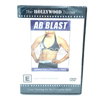 Ab Blast The Hollywood Trainer -Educational Series Region 4 DVD NEW