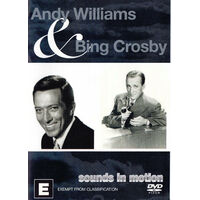 Andy Williams & Bing Crosby Live Performances of The Classic Hits Music NEW DVD