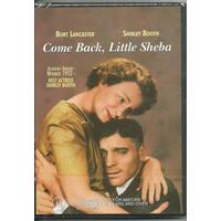 COME BACK LITTLE SHEBA - BURT LANCASTER - SHIRLEY BOOTH - DVD NEW