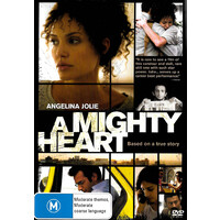 A Mighty Heart - Rare DVD Aus Stock New Region 4