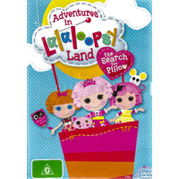 ADVENTURES IN LALALOOPSY LAND: THE SEARCH FOR PILLOW -DVD Series Animated New
