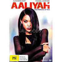 AALIYAH THE PRINCESS OF R&B -Rare DVD Aus Stock -Music New Region 4