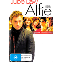 Alfie Special Collector's Edition -Comedy Region 4 Rare- Aus Stock DVD NEW