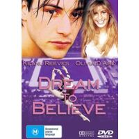 DREAM TO BELIEVE KEANU REEVES OLIVIA D'ABO ALL REGIONS - DVD NEW