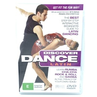 Discover dance Latin. Learn Rumba Cha Cha samba - Series Region All DVD NEW