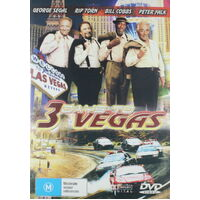 3 DAYS TO VEGAS GEORGE SEGAL RIP TORN -Rare DVD Aus Stock Comedy New