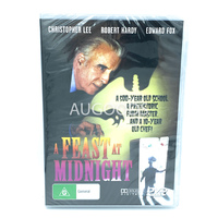 A FEAST AT MIDNIGHT CHRISTOPHER LEE - Rare DVD Aus Stock New Region ALL