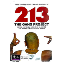 213: THE GANG PROJECT - Rare DVD Aus Stock New Region 4