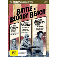 Battle At Bloody Beach Audie Murphy Australia Region 4 -War DVD NEW