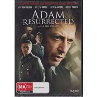 ADAM RESURRECTED - JEFF GOLDBLUM - WILLEM DEFOE -Rare DVD Aus Stock -War New