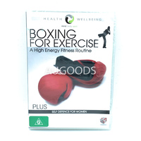 Boxing for Exercise a High Energy Fitness Routine Self Defence Women Region 4