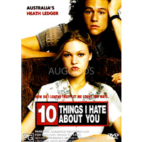 10 Things I hate about you - Rare DVD Aus Stock New Region 4
