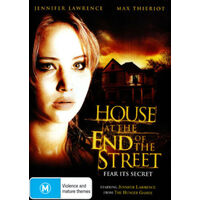 House At The End Of The Street- Thriller MOVIE - NEW DVD - AUS Stock Region 4