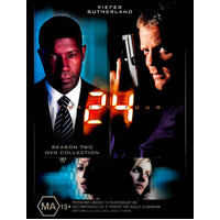 24 Season 2 -DVD Series Rare Aus Stock PREOWNED: DISC LIKE NEW