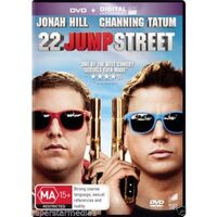 22 Jump Street - Rare DVD Aus Stock Preowned: Excellent Condition