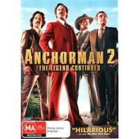 Anchorman 2: The Legend Continues -Comedy Rare- Aus Stock DVD Preowned: Excellent Condition