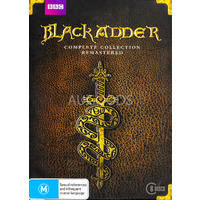 Blackadder Complete Collection - Series Region 4 Rare- Aus Stock Preowned DVD Excellent Condition