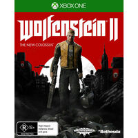 WOLFENSTEIN II 2 The New Colossus  Xbox One GAME BRAND NEW SEALED